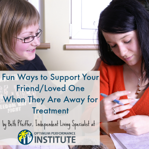 supporting loved ones in treatment