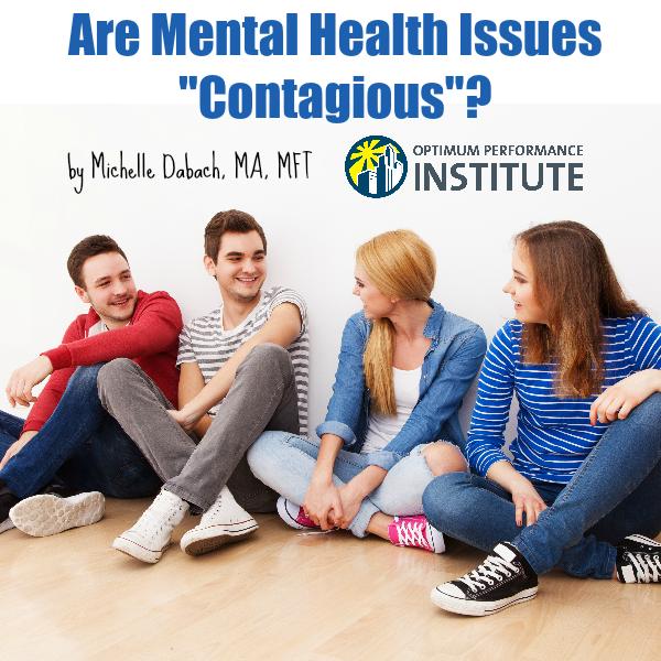 mental illness health contagious