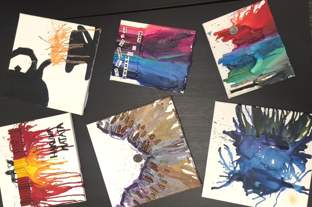 Crayon art opi residential treatment center for young adults crayon art now that we have shared the fun go out and try it yourself solutioingenieria Image collections