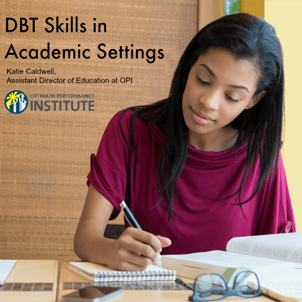 DBT academic setting college school