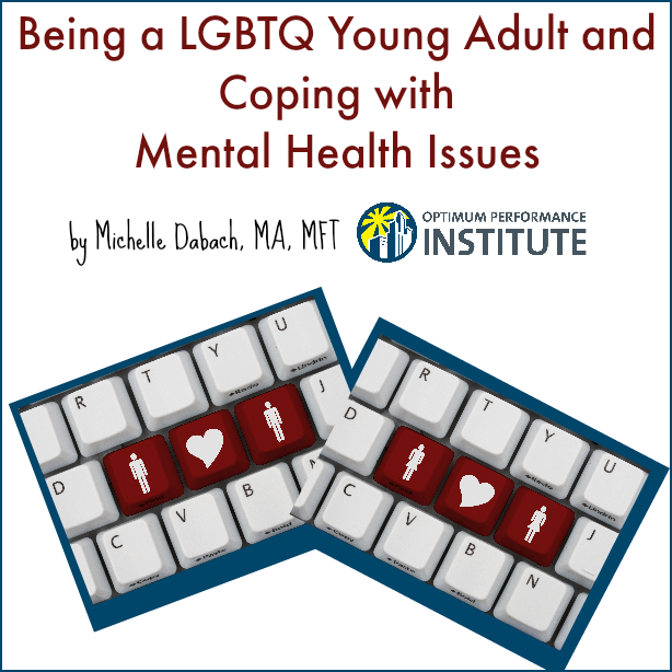 LGBTQ young adult mental health issues