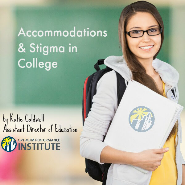 accommodations stigma college