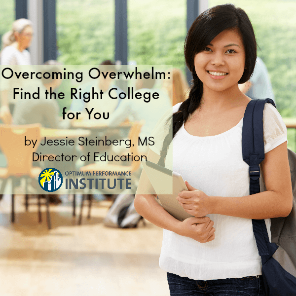 choosing a college failure to launch