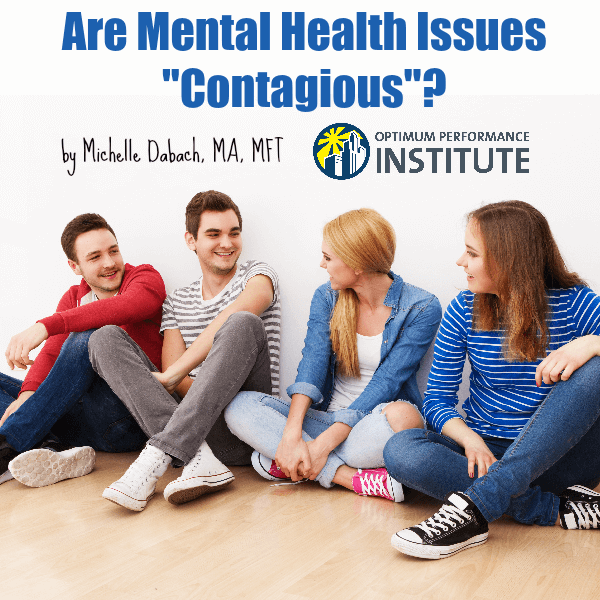 mental illness health contagious
