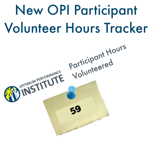 opi volunteer program hours tracker