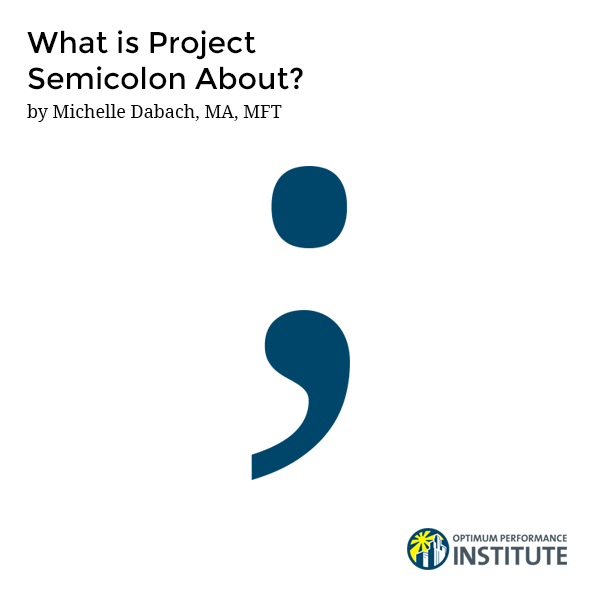 what is project semicolon about